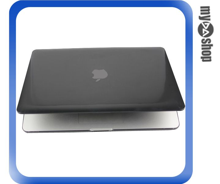《DA量販店》MACBOOK PRO RETINA 13.3吋 水晶 保護殼 黑 適用 無光碟機版(79-7128)