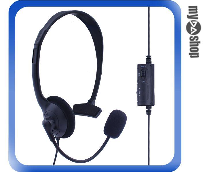 《DA量販店》PS4 專用 單邊 單耳 有線 耳機 耳麥 麥克風(80-0817)