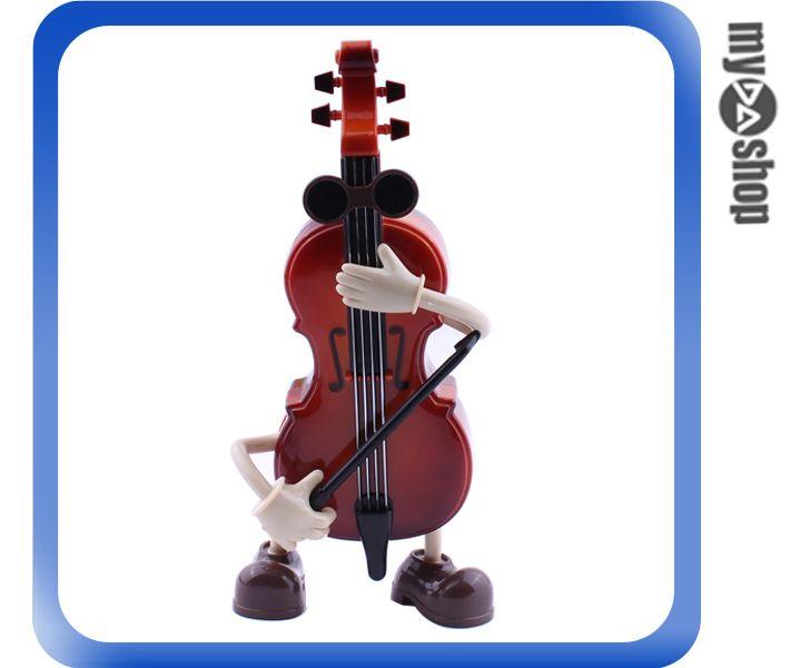 《DA量販店》創意 小禮 禮物 禮品 動感 會動 樂器 小提琴 音樂盒(80-1018)