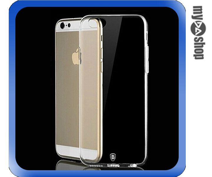《DA量販店》APPLE 蘋果 iphone6 plus 5.5吋 超薄 TPU 手機殼 具防塵塞 透明(80-1253)