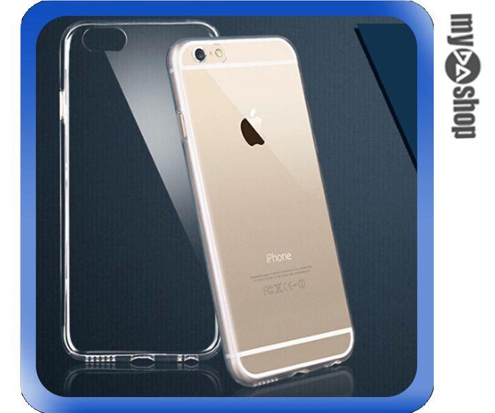 《DA量販店》APPLE 蘋果 iphone6 4.7吋 超薄 TPU 手機殼 透明 軟殼(80-1284)