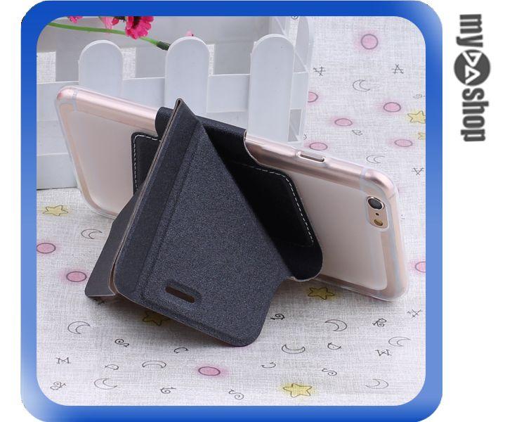 《DA量販店》變形金剛 蘋果 iphone6 plus 軟殼 翻蓋 皮套 手機套 支架 黑色(80-1439)