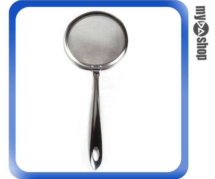 《DA量販店》廚房 火鍋 油炸 不鏽鋼 濾油勺 撈泡沫 油脂 撈勺 過濾勺 中(V50-0204)