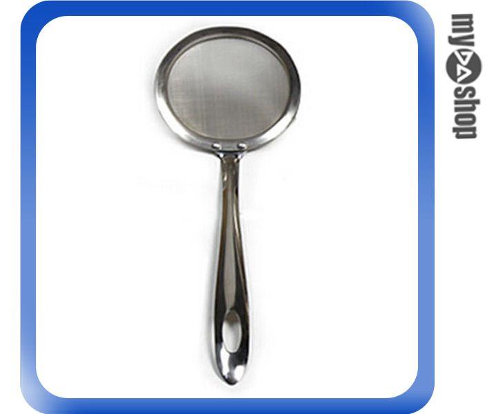 《DA量販店》廚房 火鍋 油炸 不鏽鋼 濾油勺 撈泡沫 油脂 撈勺 過濾勺 小(V50-0205)