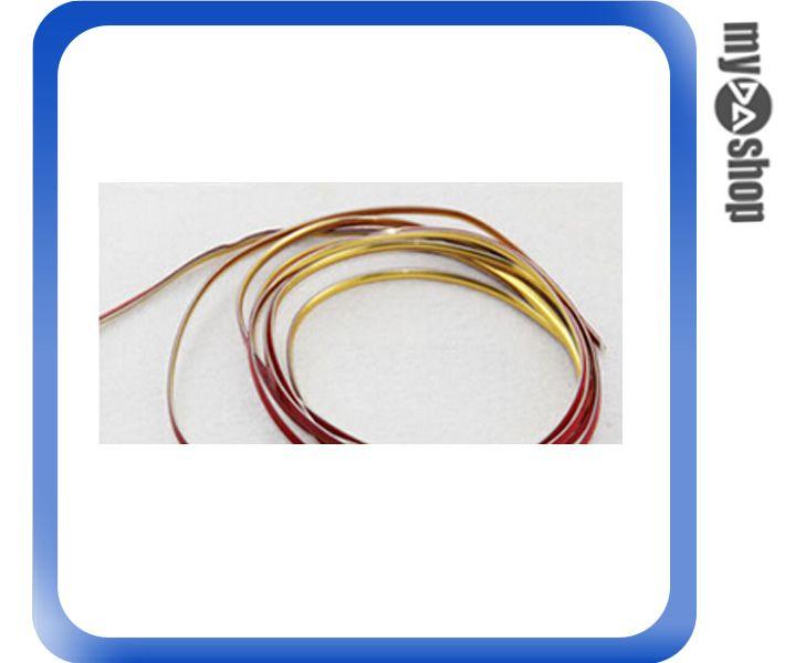 《DA量販店》汽車 精品 DIY 裝飾條 邊條 計程車 機車 改裝 改色 5M 金色(V50-0286)