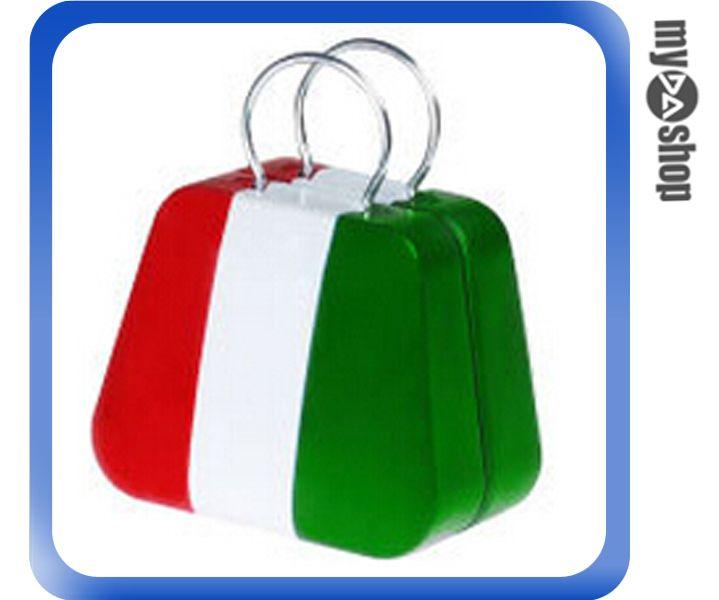 《DA量販店》婚禮小物 義大利 國旗 喜糖盒 行李箱 手提包 金屬盒(V50-1033)