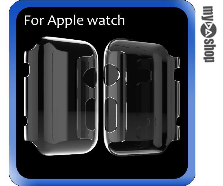 《DA量販店》Apple watch 透明 保護套 保護殼 38mm 硬殼(V50-1075)