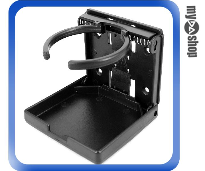 《DA量販店》汽車 精品 百貨 PI-63971 黑色 伸縮 置杯架 65-105mm (W08-038)