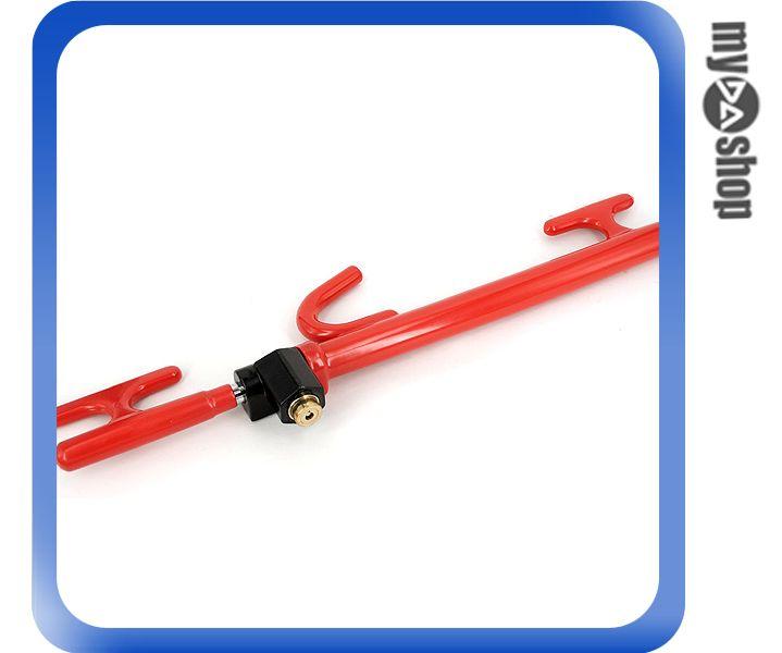 《DA量販店》汽車 精品 百貨 SVR-212 4合1拐杖 手剎排檔 方向盤鎖 防盜 (W08-126)
