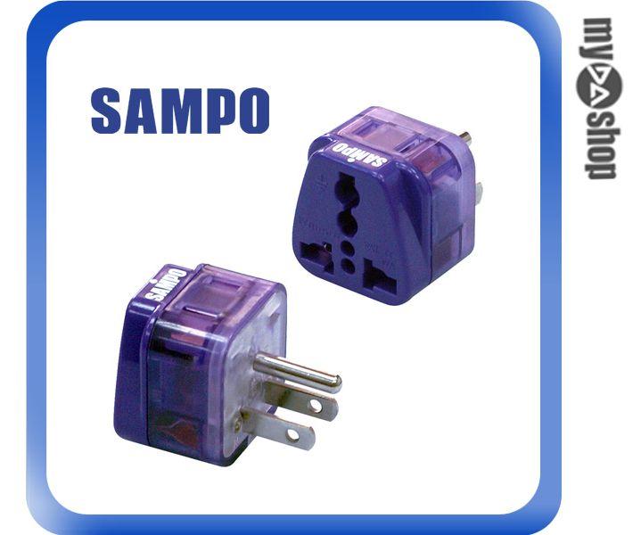 《DA量販店》聲寶 SAMPO 日本 美國 泰國 轉接頭 雙插座 EP-UC2B(W89-0021)