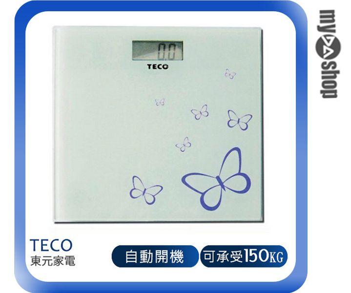 《DA量販店》東元 TECO 蝴蝶 電子 體重計 XYFWT381(W89-0030)