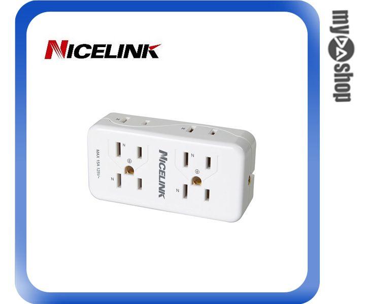 《DA量販店》Nicelink耐司林克 6座2+3孔 EC-M06A 擴充座(W89-0118)