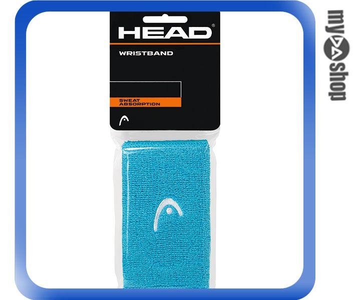 《DA量販店》HEAD 網球 5吋 運動 護腕 綠色 2個(W92-0050)