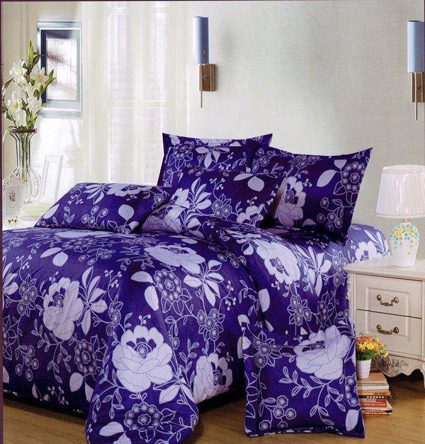 ✧臺灣製✧舒柔棉磨毛超細纖維床包組《HW-0017》5X6.2尺雙人床包組+兩用被 四件組◤彩虹森林◥