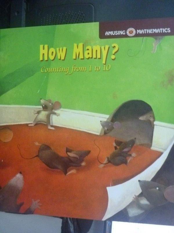 【書寶二手書T9/繪本_QJO】How Many?_G.O.B