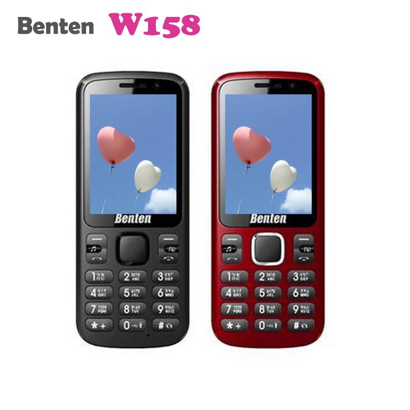 BENTEN W158 3G單卡國民機/直立式手機/軍人機/老人機/工程師機/無相機功能/LED手電筒/聯強公司貨