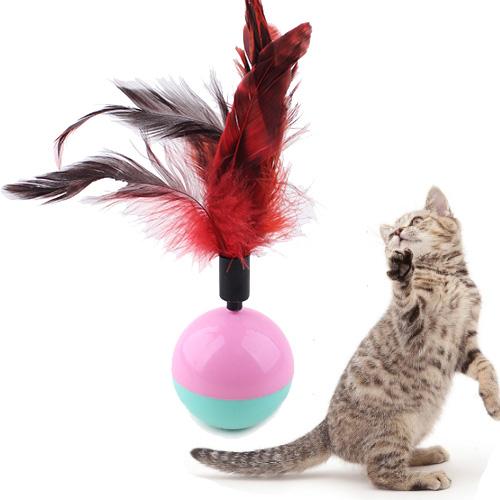 【小樂寵】羽毛款不倒翁玩具