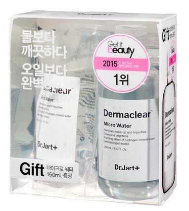 Dr.Jart+ 活性水分子礦泉卸妝水限量加大組(250ML+150ML)/效期2018.08【淨妍美肌】