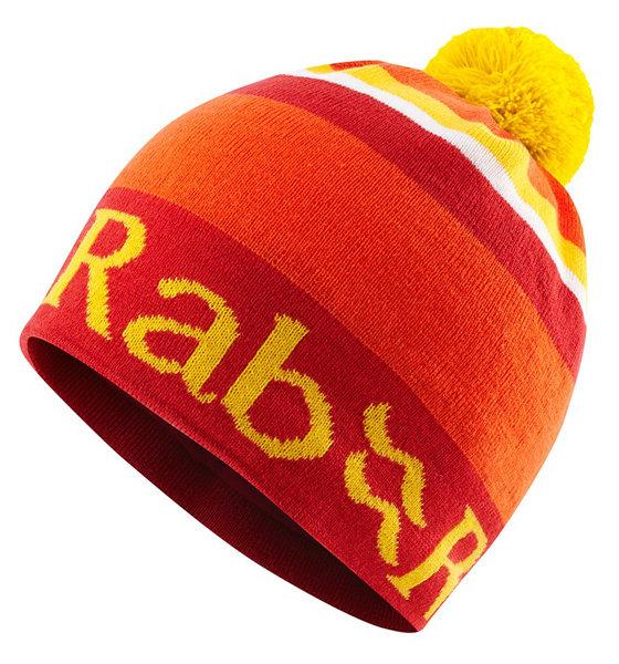 【鄉野情戶外專業】 Rab |英國|  BOB BEANIE 保暖帽/毛帽 毛線帽/-鐵銹紅-QAA-32