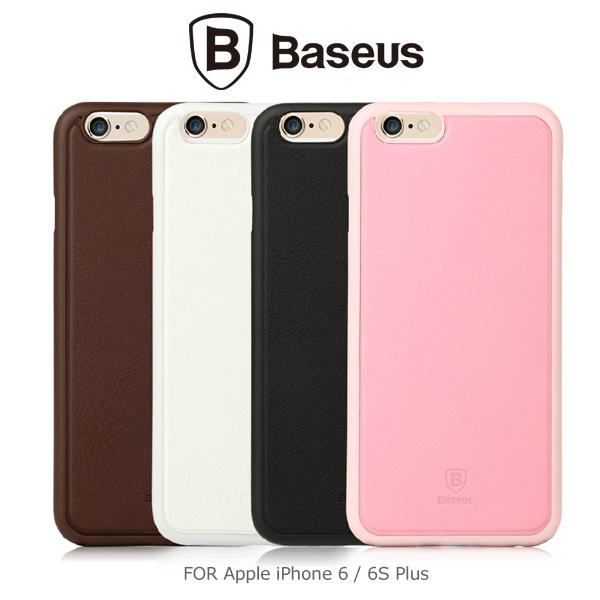 強尼拍賣~ BASEUS 倍思 Apple iPhone 6 / iPhone 6 Plus (6S) 舒殼貼皮保護殼