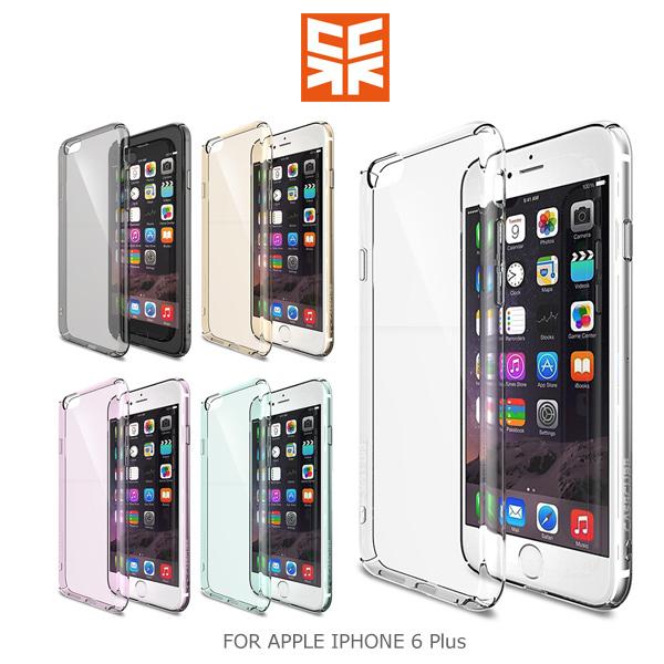 強尼拍賣~ Case Cube APPLE IPHONE 6 Plus 裹 保護殼 透明殼 硬殼 按鍵全包