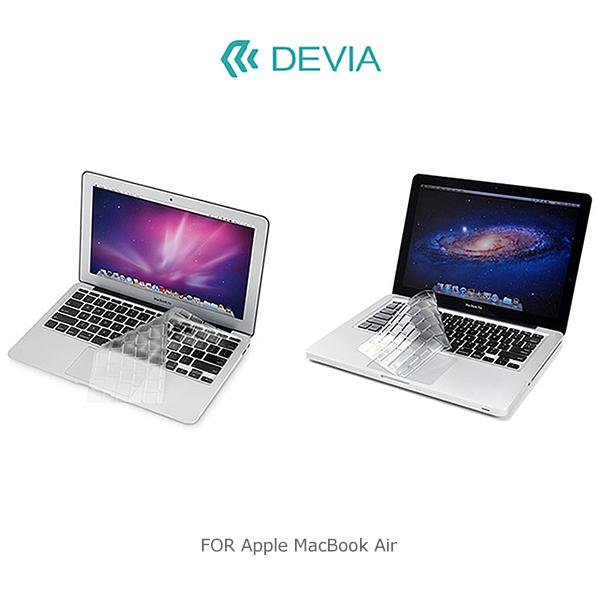 強尼拍賣~ DEVIA Apple MacBook Air 11 / 12 吋 鍵盤保護膜 鍵盤膜 纖薄設計 TPU