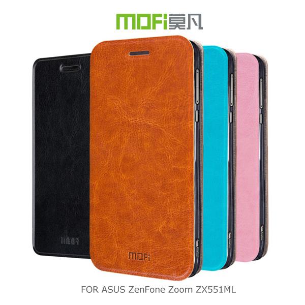 強尼拍賣~ MOFI 莫凡 ASUS ZenFone Zoom ZX551ML 睿系列側翻皮套 保護殼 保護套
