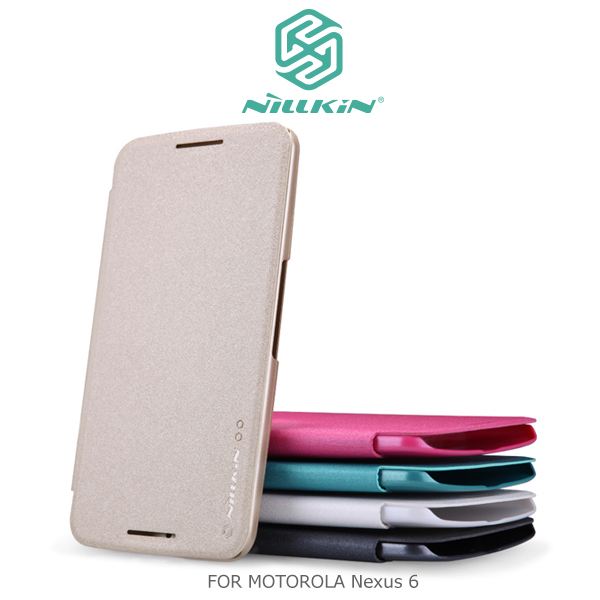 強尼拍賣~ NILLKIN Motorola Nexus 6 星韵皮套 保護套 手機套 休眠喚醒