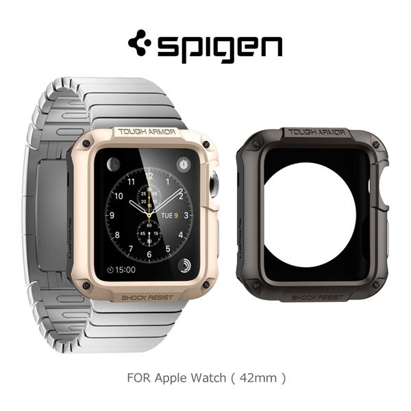 強尼拍賣~Spigen Apple Watch (42mm) Tough Armor 防震保護殼