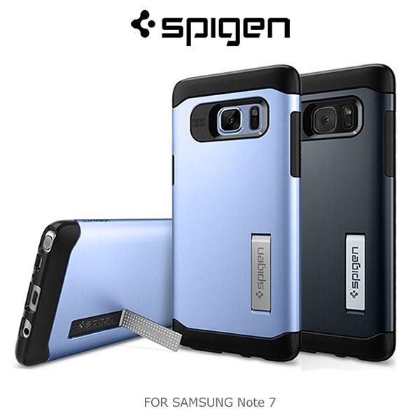 強尼拍賣~Spigen SAMSUNG Galaxy Note 7 Slim Armor 防震保護殼 抗震 防撞 背殼
