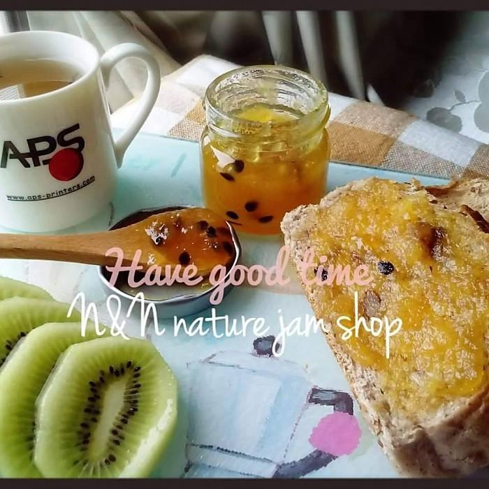 N&N天然手工果醬  百香果鳳梨果醬口味  50ml(絕無添加防腐劑、人工添加物)
