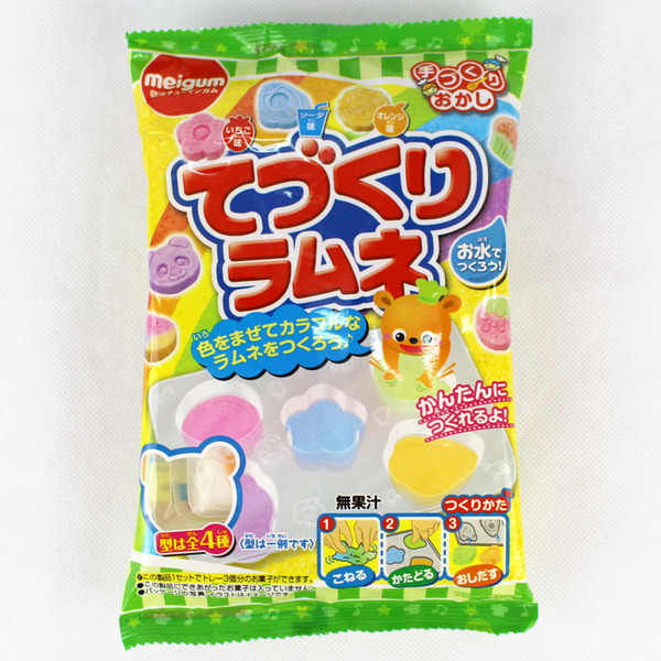 有樂町進口食品 日本進口 明治DIY食玩水果軟糖 4902744031950