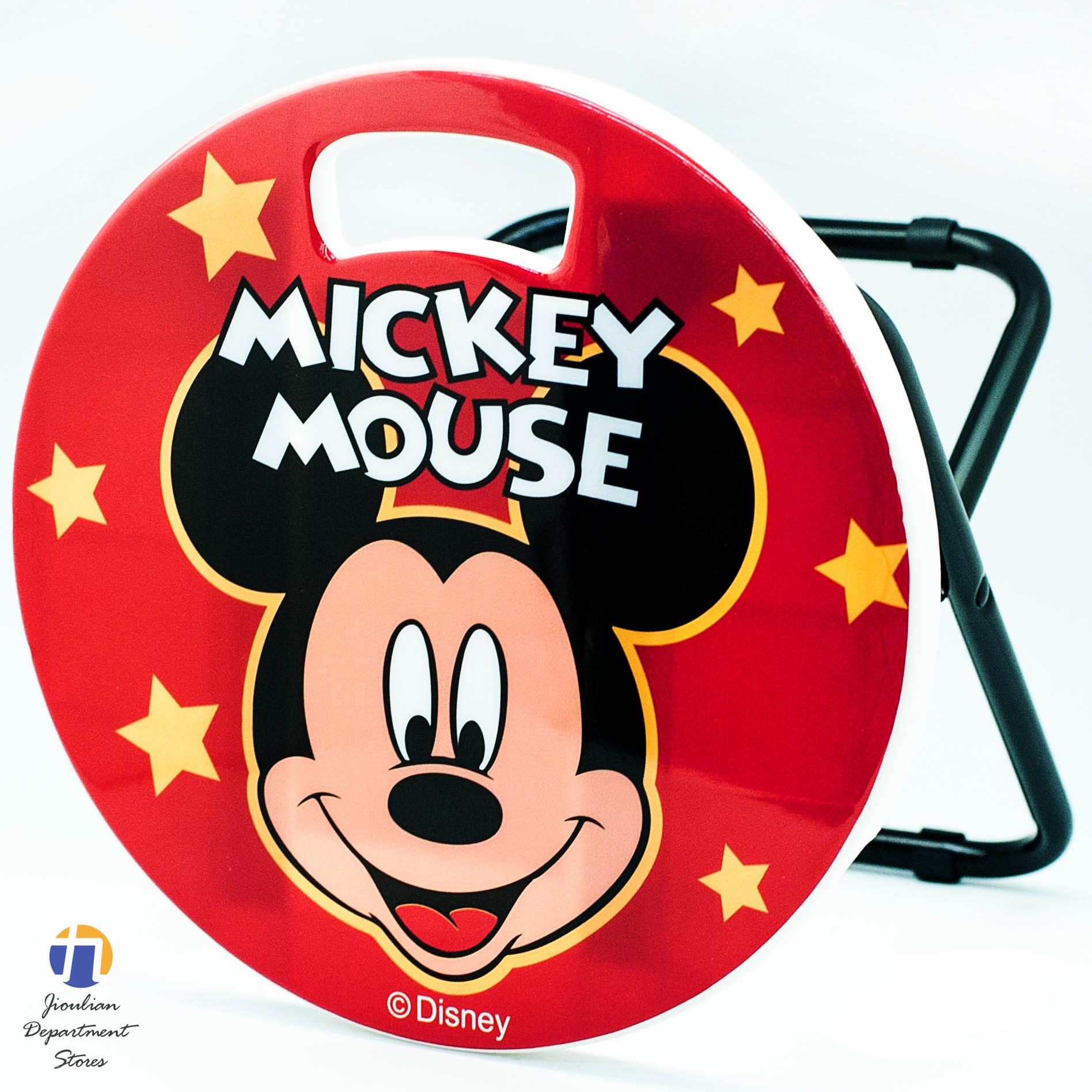 {九聯百貨} 米奇 Mickey Mouse 鐵管矮凳椅 (bm-210011)