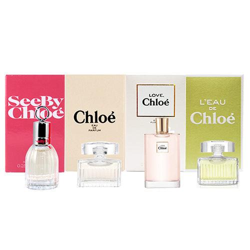 Chloe 熱銷經典 See By Chloe 小香禮盒 5ml×4 《Belle倍莉小舖》