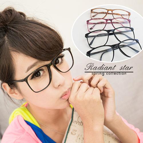 MIT 韓流復古超輕架鏡框 可拆鏡片雜誌韓網造型眼鏡【 1688】☆璀璨之星