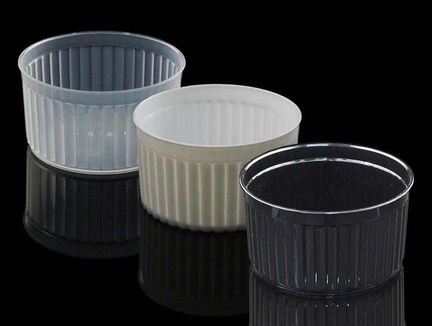 布丁燒、布丁杯、波紋杯B7440、MY7440 (含透明蓋)20pcs