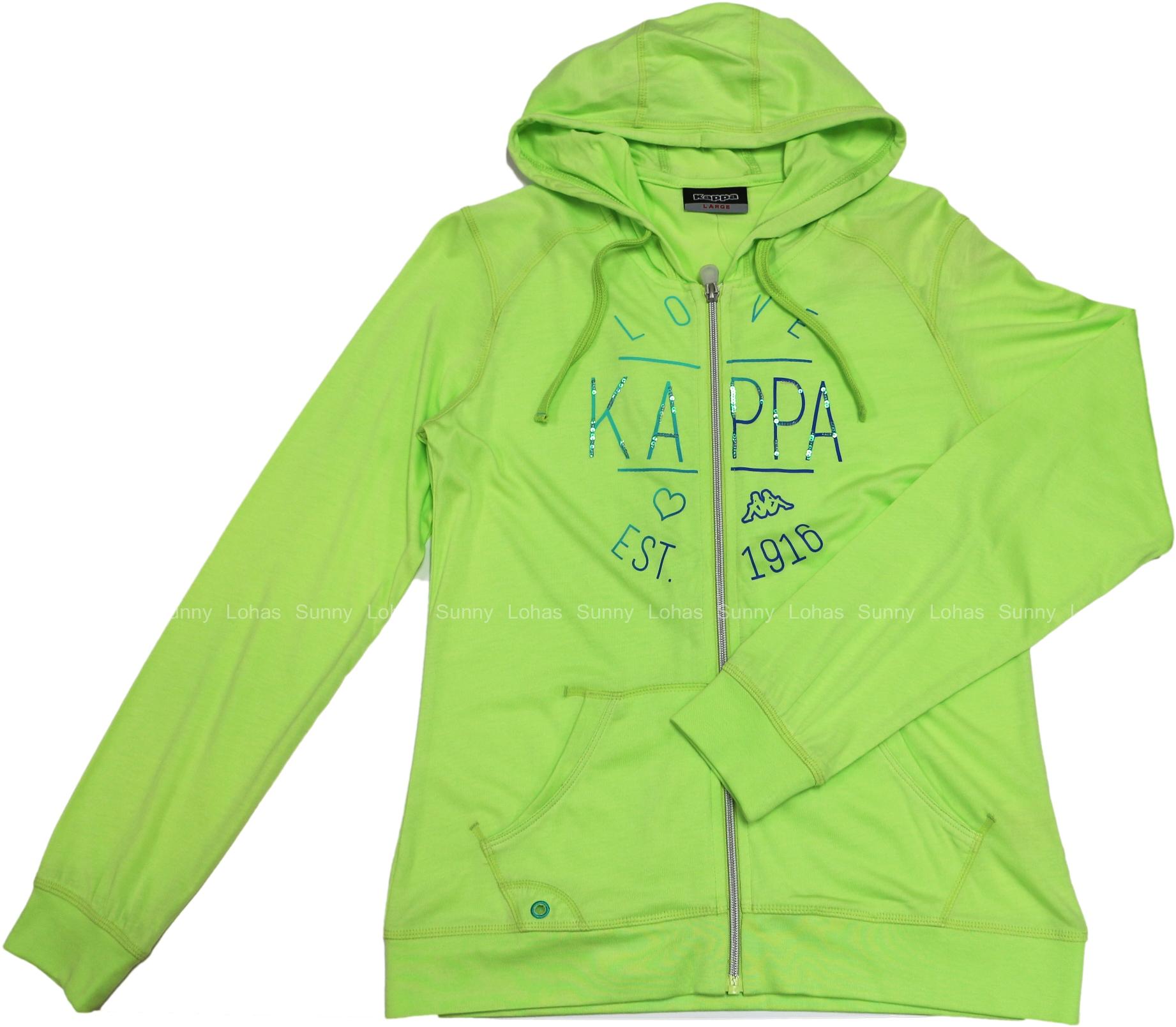 [陽光樂活] KAPPA 女款 長袖連帽外套 FC52-C310