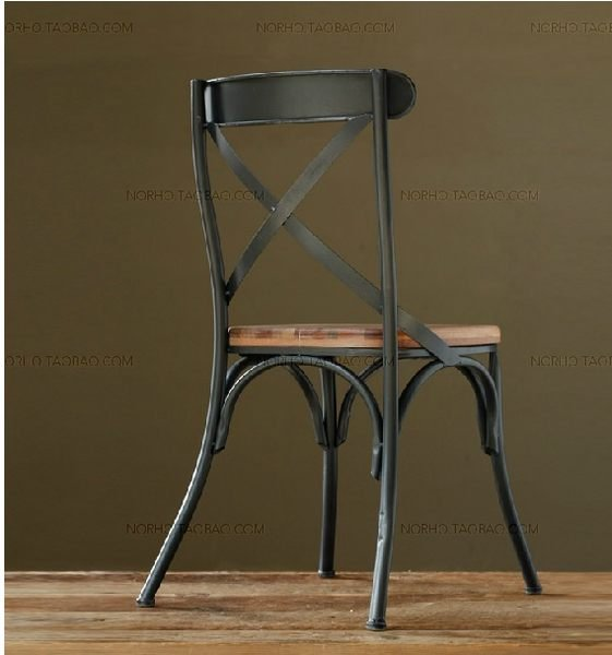 《Chair Empire》 Loft風 法國工業風 水管 茶几 法式鐵藝咖啡椅 做舊 鐵藝餐椅
