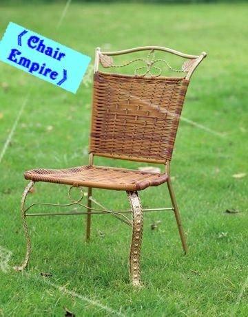《Chair Empire》327小兒童椅兒童椅小金剛椅塑膠編藤兒童椅野餐椅方便攜帶