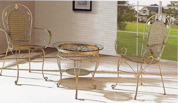 《Chair Empire》515+617 一桌二椅 戶外桌椅 藤椅休閒椅陽台 咖啡廳桌椅 露天桌椅組合 仿藤