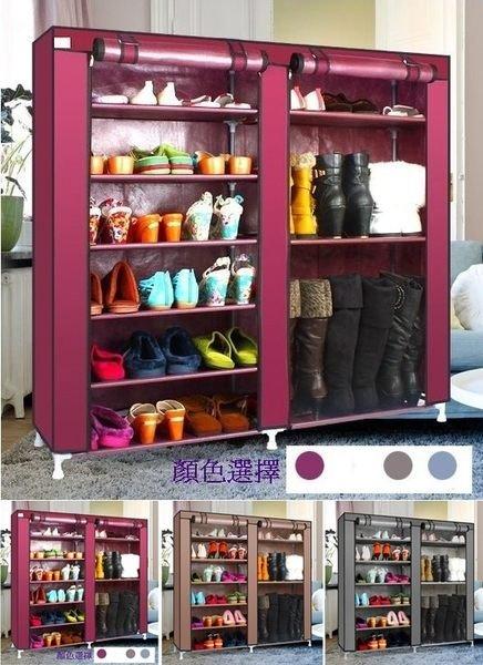 《Chair Empire》椅子帝國九大隔層大容量組裝鞋櫃鞋架置物櫃置物架(灰.咖啡.棗紅色)