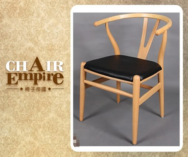 《Chair Empire》『無齒縫接』皮椅墊Hans J. Wegner Y Chair 叉骨椅太師椅Y椅