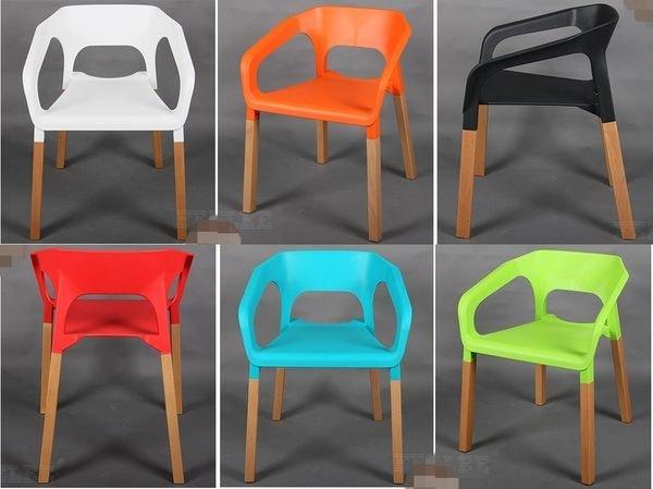《Chair Empire》時尚休閒椅 簡約辦公椅 電腦椅 塑料 櫸木椅 北歐EAMES椅 設計 餐椅