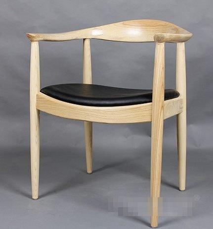 《Chair Empire》『現貨』THE CHAIR 牛角椅 復刻版 Hans Wegner 肯尼迪椅 扶手牛角椅 總統椅