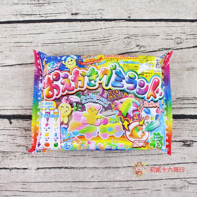 【0216零食會社】Kracie_知育果子自己動手畫糖果27g
