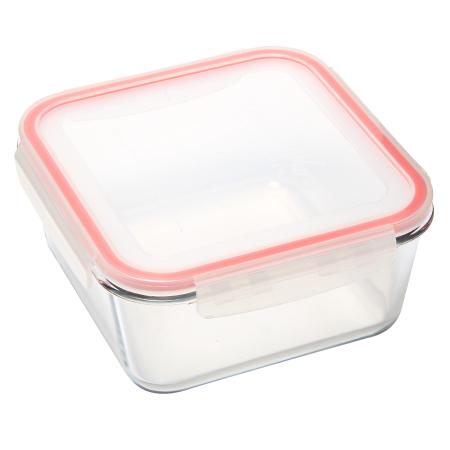 耐熱玻璃保鮮盒 1600ml 正方形