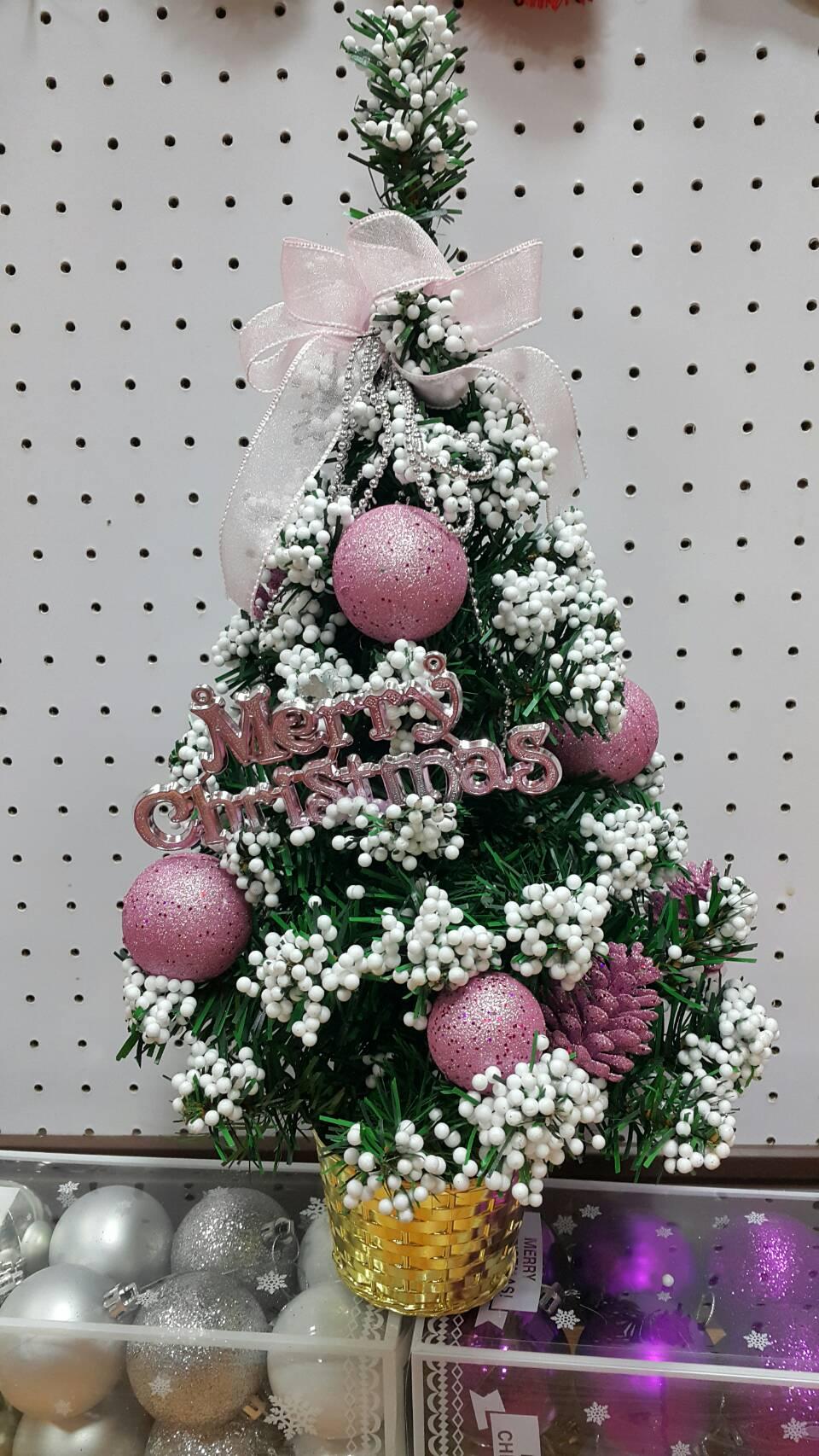 X射線【X392436】35cm雪花裝飾樹(紫),聖誕樹/聖誕佈置/聖誕燈/會場佈置/材料包/成品樹/小樹