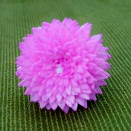 【蘿瑪樂活】手作造型擴香花-大理花(粉)-小花(直徑約3cm)
