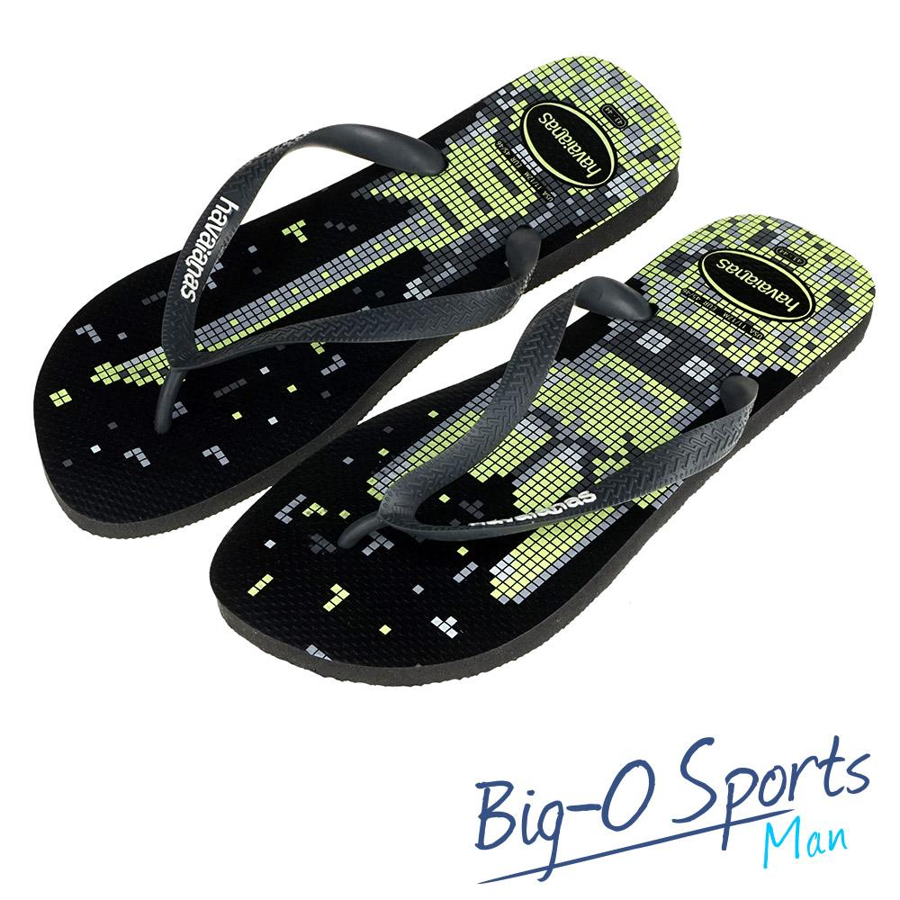 Havaianas 哈瓦仕  巴西拖  沙灘拖鞋 男 HF6M0917B9 Big-O SPORTS