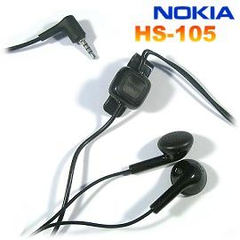Nokia HS-105/WH-101 原廠耳機 (2.5mm)